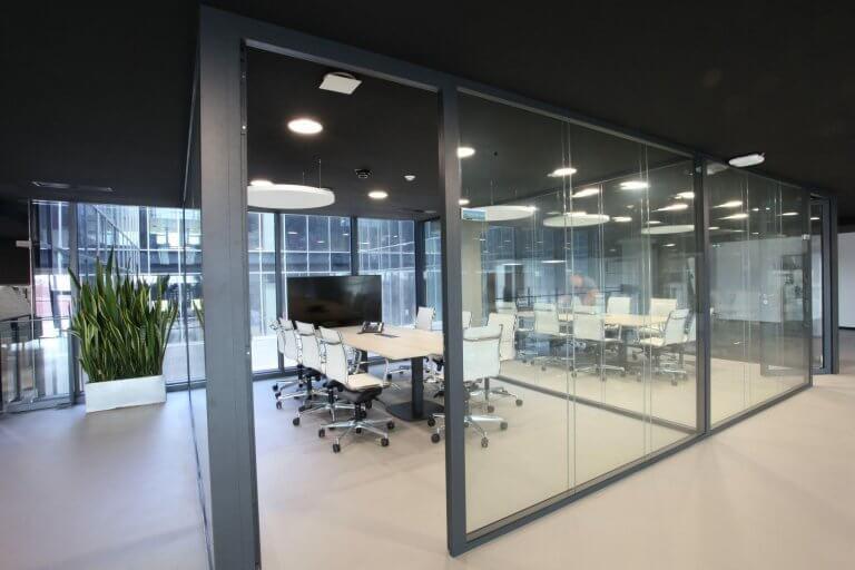 Salle de conférence bureaux modernes