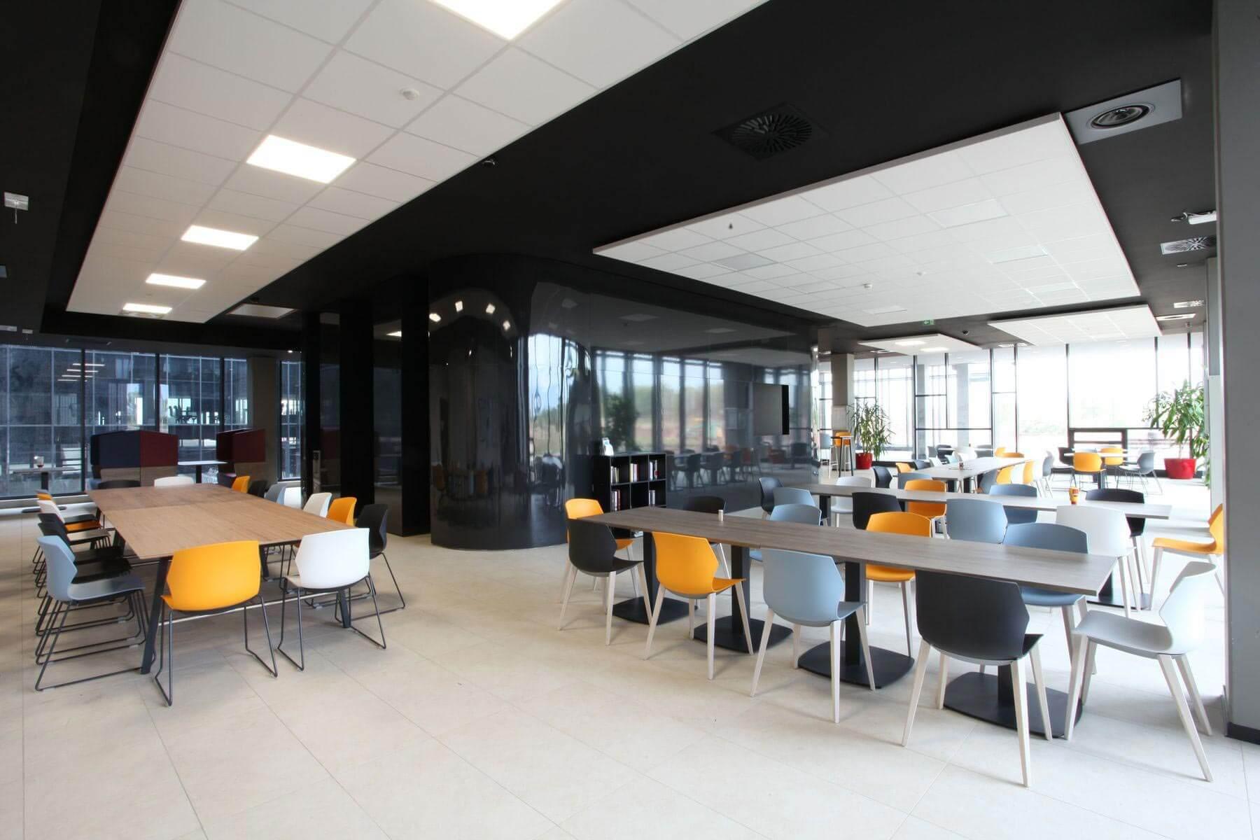 Salle de détente bureaux Montpellier