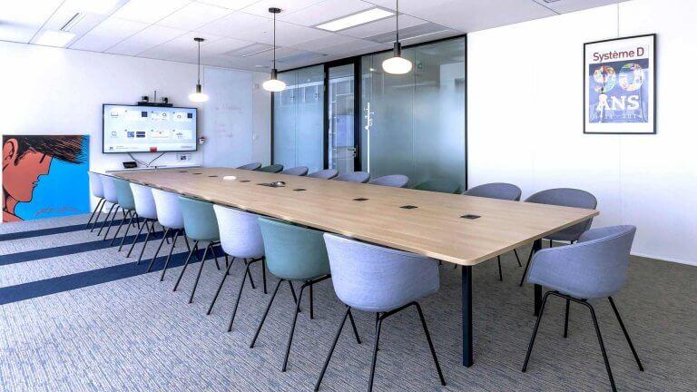 Espace réunion design