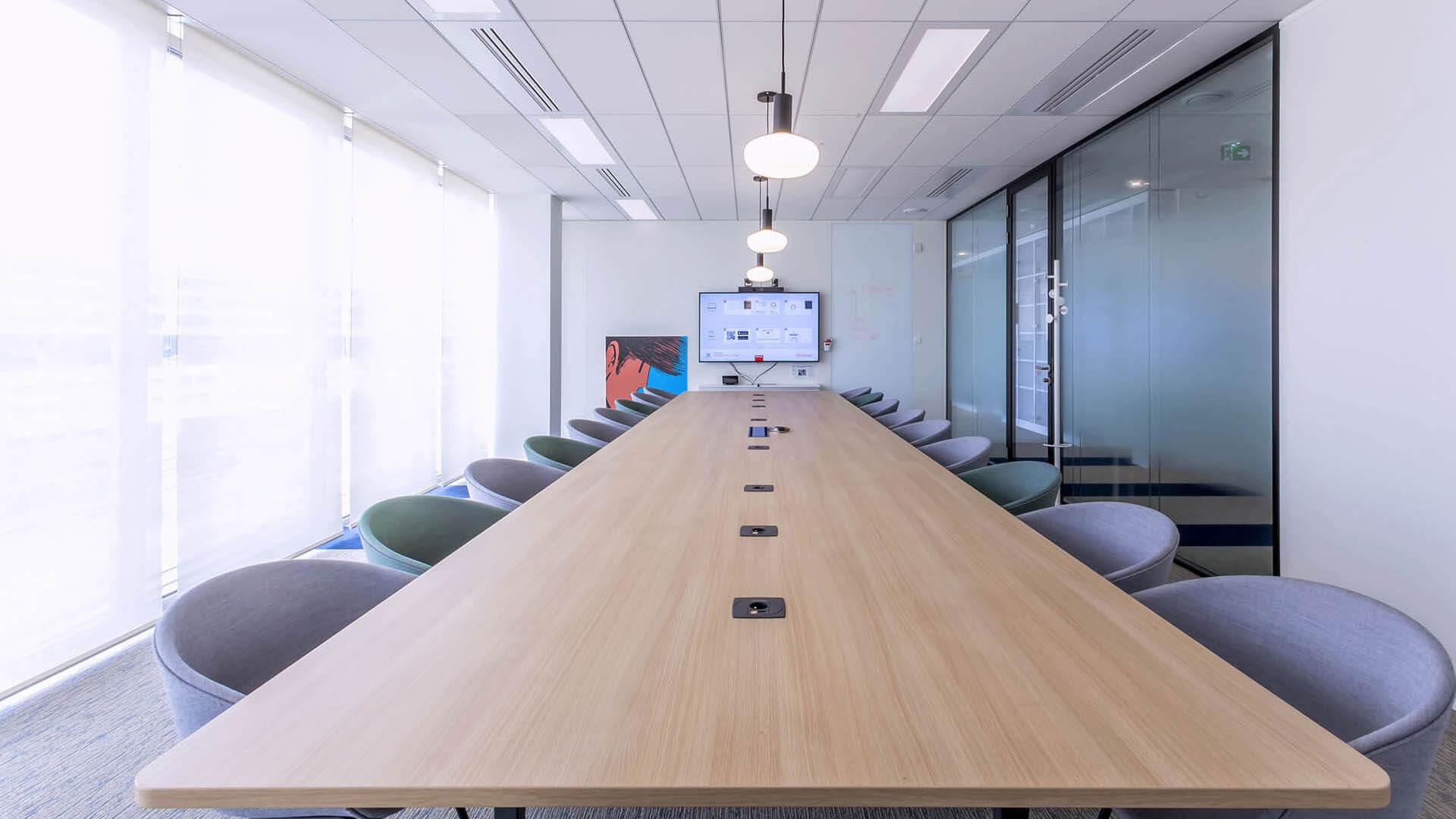Salle de réunion créative