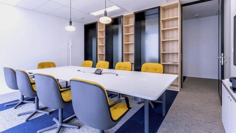 Salle de réunion bureaux modernes